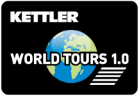 Kettler träningssoftware World Tours 1.0 Detailbild