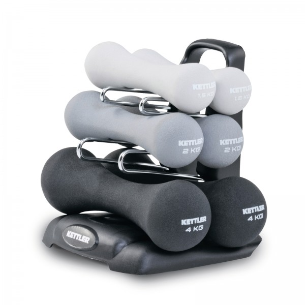 Kettler Neoprene Dumbbell Set