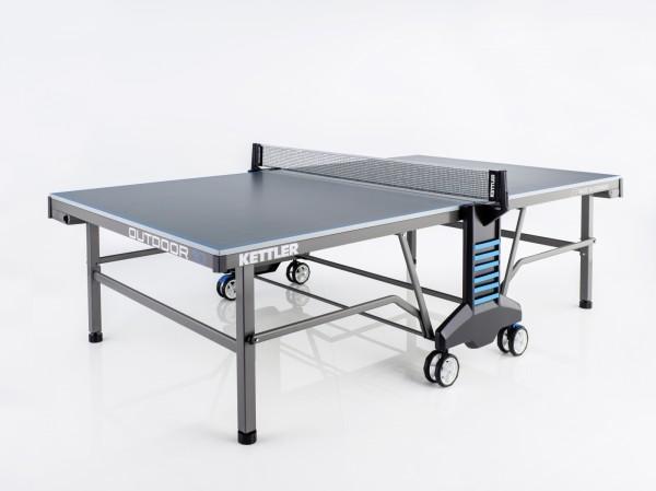 Tischtennisplatte Outdoor 10 grau/blau