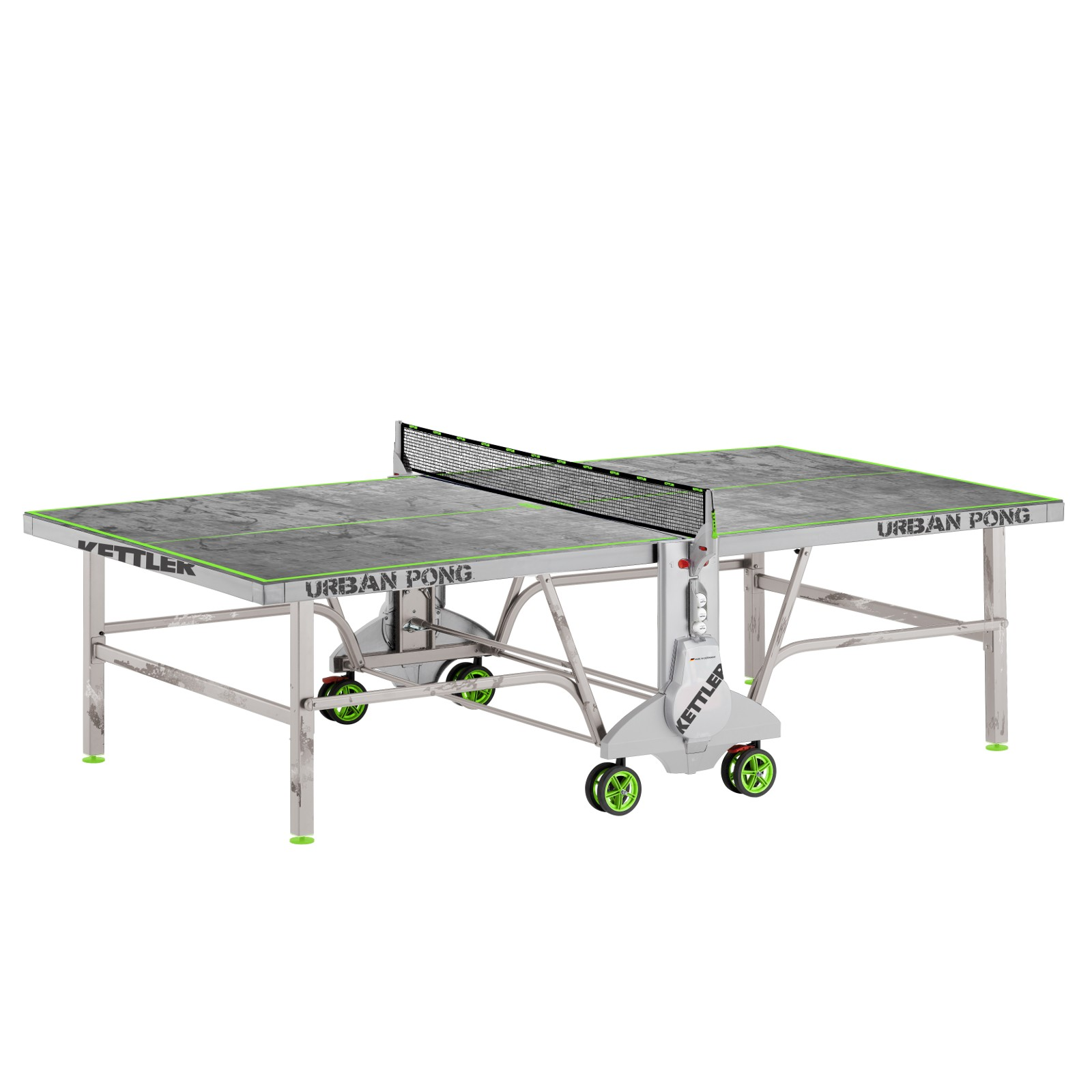 Kettler table tennis table urban pong osta edullisesti for Table kettler