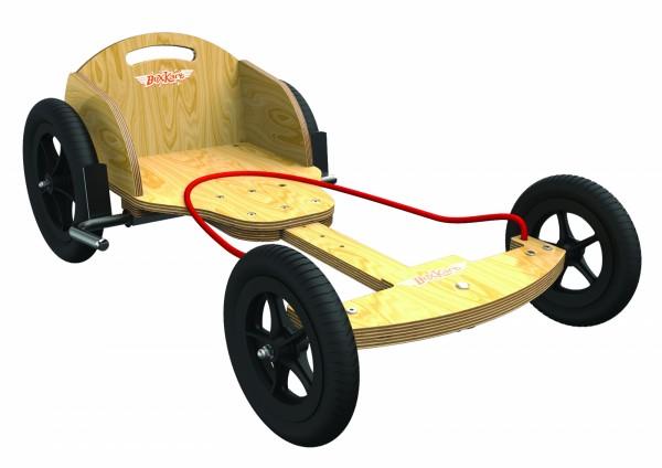 kiddimoto® BOXKART Seifenkiste Racer