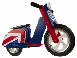 kiddimoto Laufrad Scooter Retro