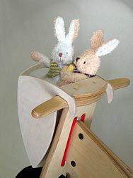 KOKUA Hopper Fahrradkorb für Holzlaufräder