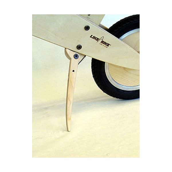 KOKUA side kickstand for wood learner bikes
