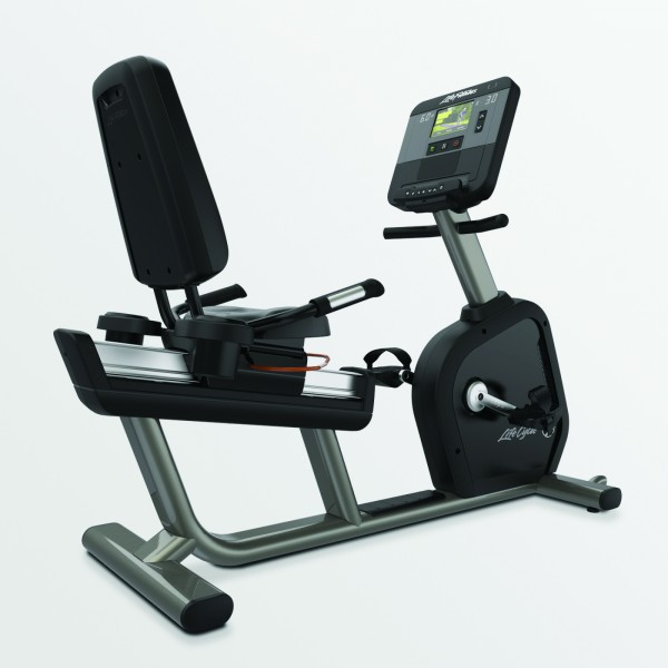 Life Fitness Recumbent Lifecycle Club Series Plus