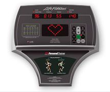 Life Fitness Crosstrainer Club Series CSX (eng.) Detailbild