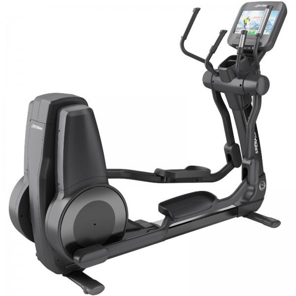 Crossový trenažér Life Fitness řada Platinum Club Discover SE WIFI onyxový černý