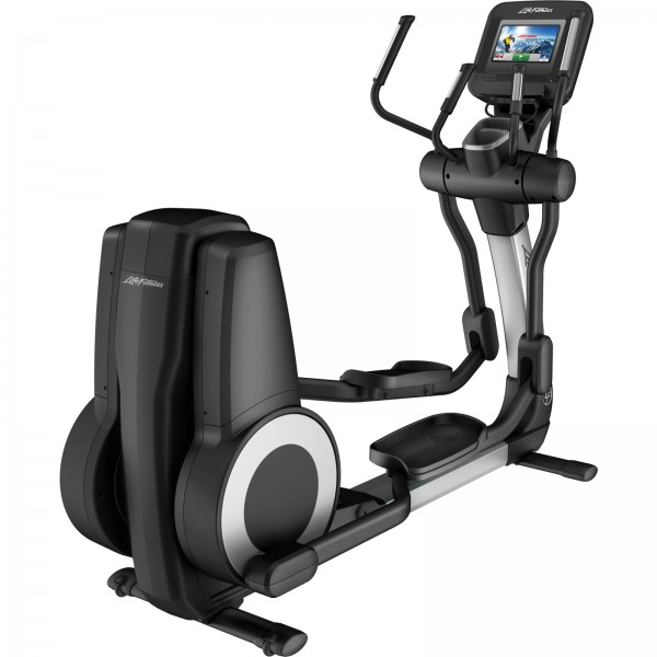 life fitness crosstrainer platinum club series discover si wifi arctic silver sport tiedje. Black Bedroom Furniture Sets. Home Design Ideas