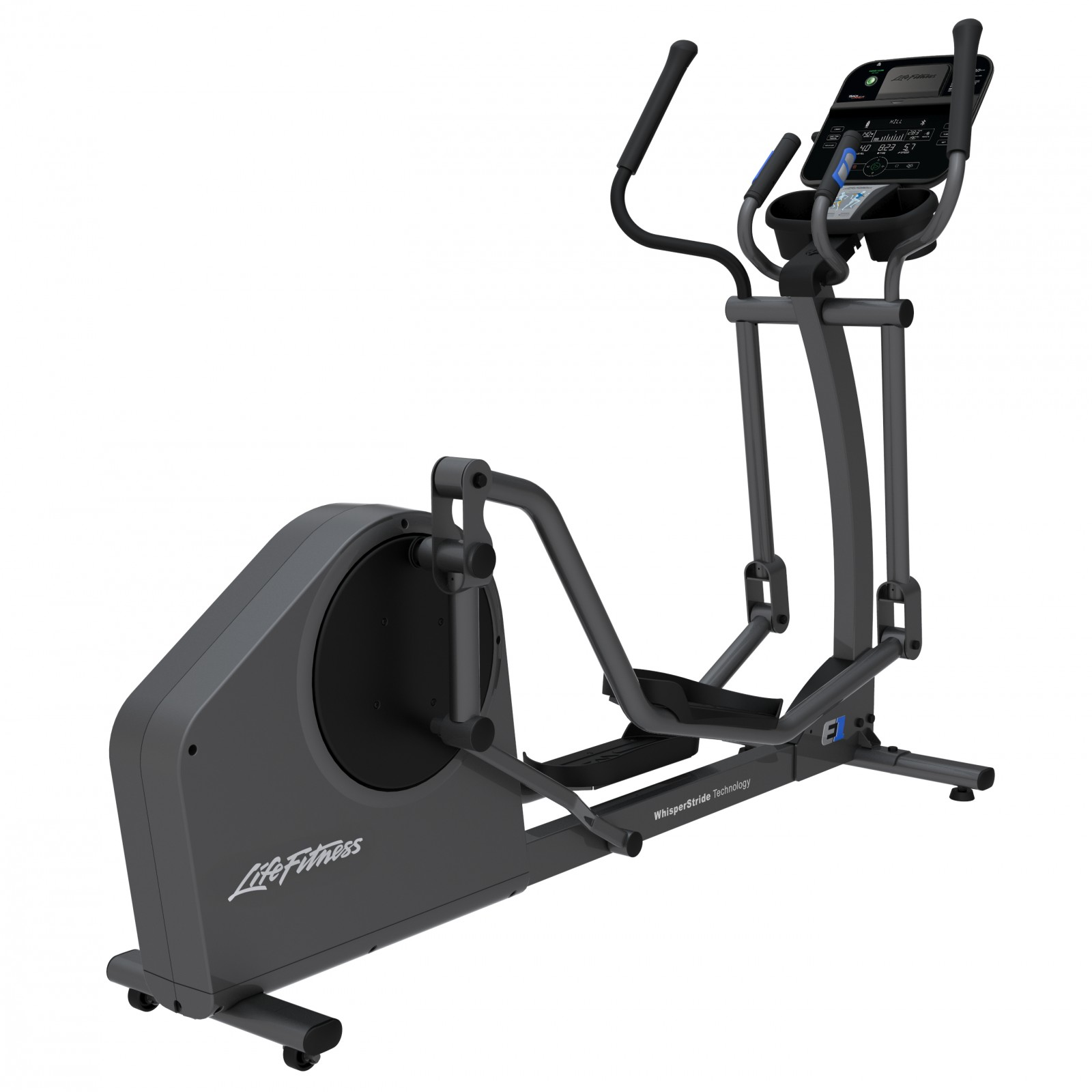 life fitness crosstrainer e1 track connect sport tiedje. Black Bedroom Furniture Sets. Home Design Ideas