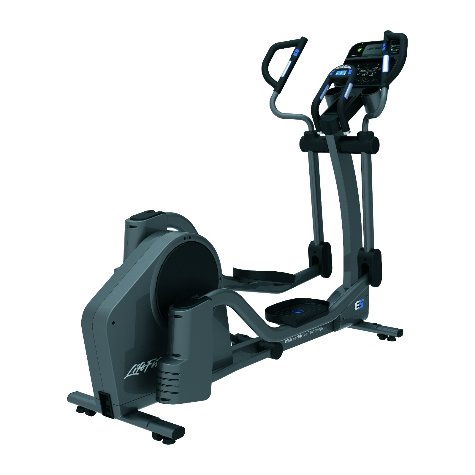life fitness crosstrainer e5 track connect sport tiedje. Black Bedroom Furniture Sets. Home Design Ideas