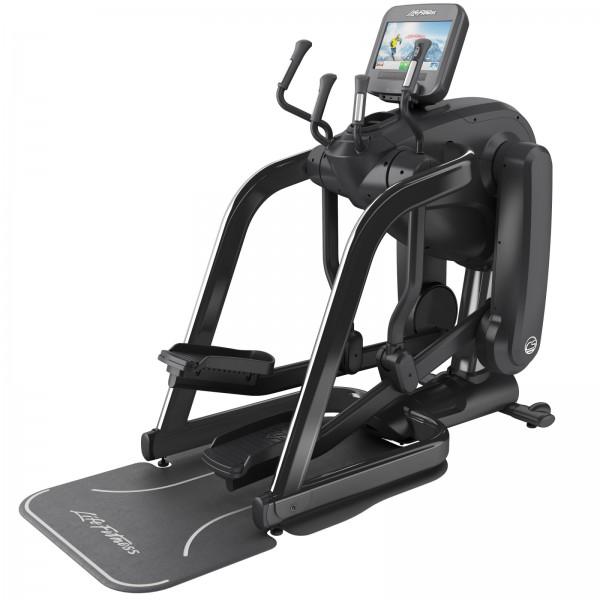Crossový trenažér Life Fitness řada Platinum Club Discover SE FlexStrider černý