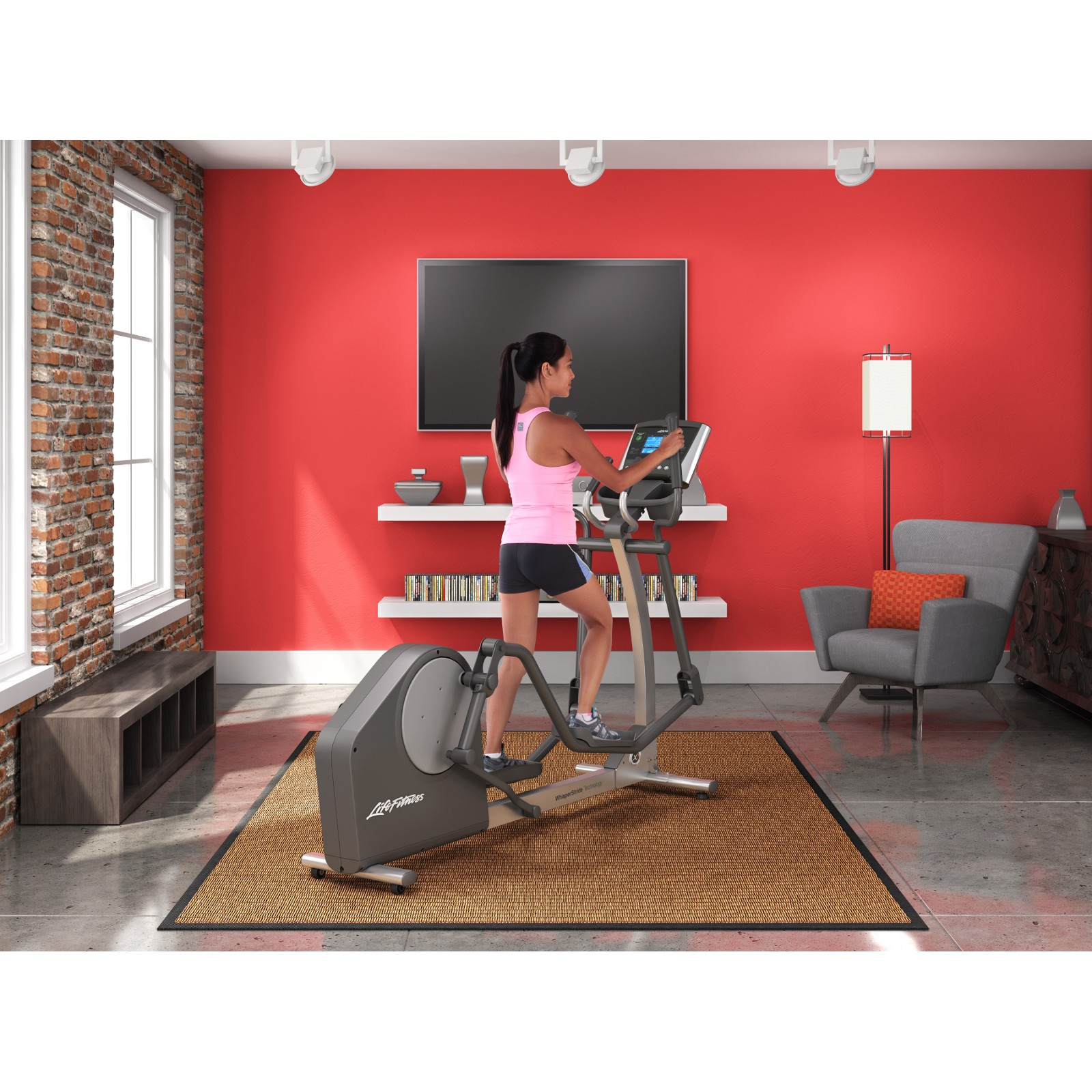 life fitness crosstrainer x1 go kaufen mit 380 kundenbewertungen sport tiedje. Black Bedroom Furniture Sets. Home Design Ideas