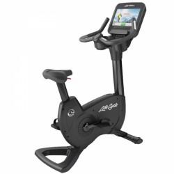 Cyklotrenažér Life Fitness Platinum Club řada Discover SE WIFI artická stříbrná