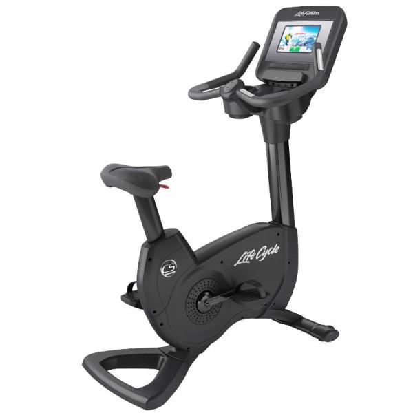 Cyklotrenažér Life Fitness Platinum řada Club Discover SI WIFI onyxová černá