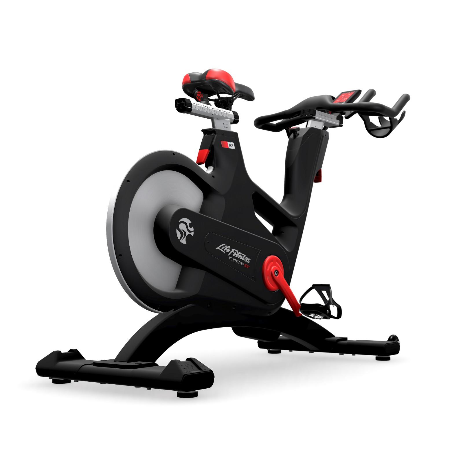 life fitness indoor bike ic7 by icg sport tiedje. Black Bedroom Furniture Sets. Home Design Ideas