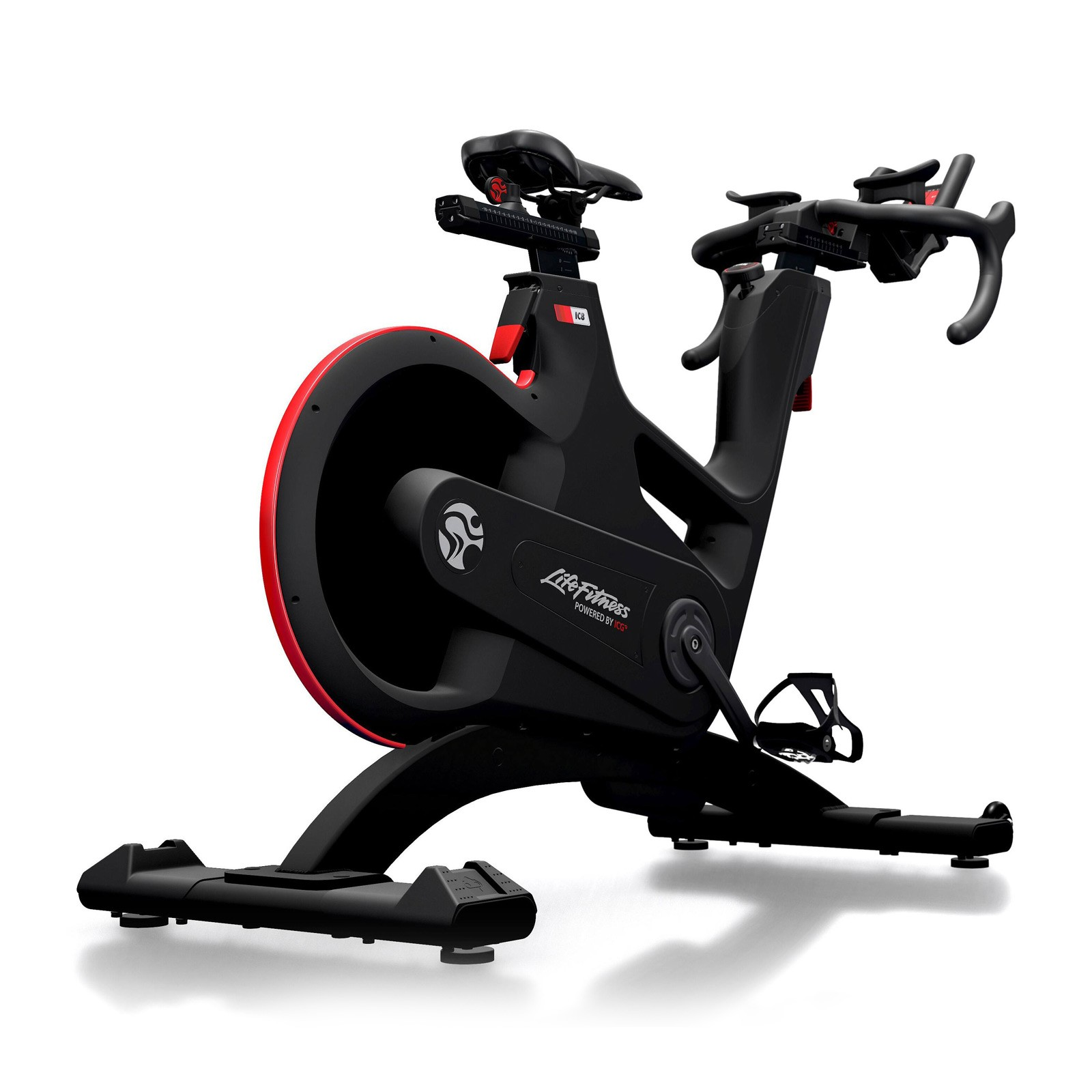 life fitness indoor bike ic8 power trainer sport tiedje. Black Bedroom Furniture Sets. Home Design Ideas