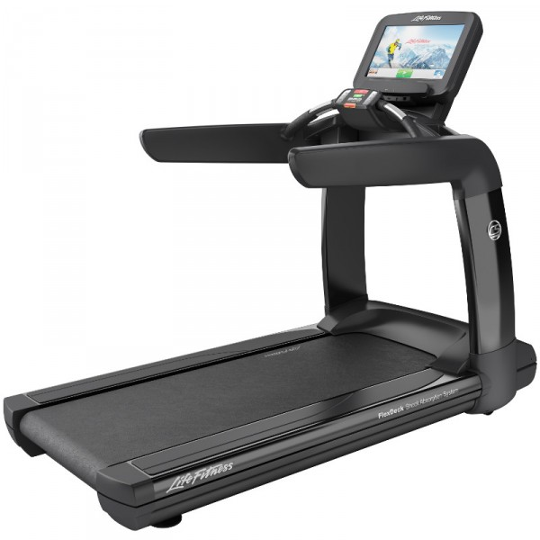 Běžecký pás Life Fitness Platinum Club Series Discover SE3 WIFI onyxová černá