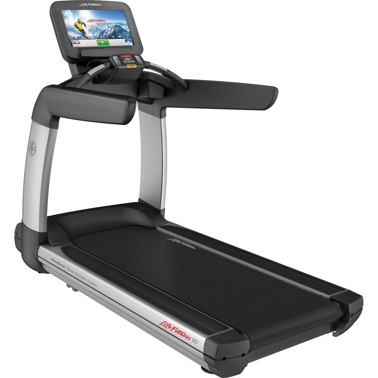 Life fitness platinum club series discover se3 treadmill for Gym life fitness