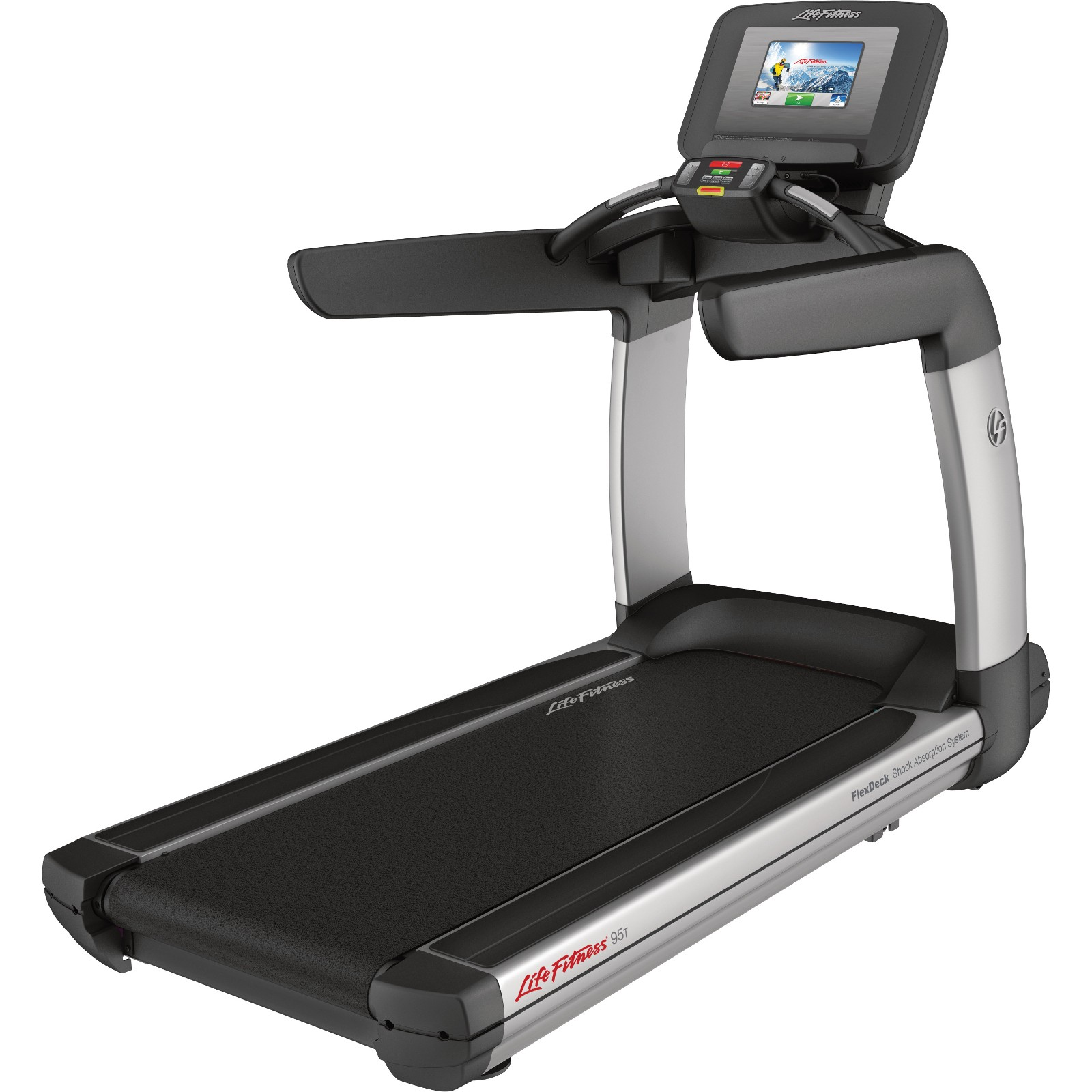 Life Fitness Treadmill Platinum Club Series Discover SI