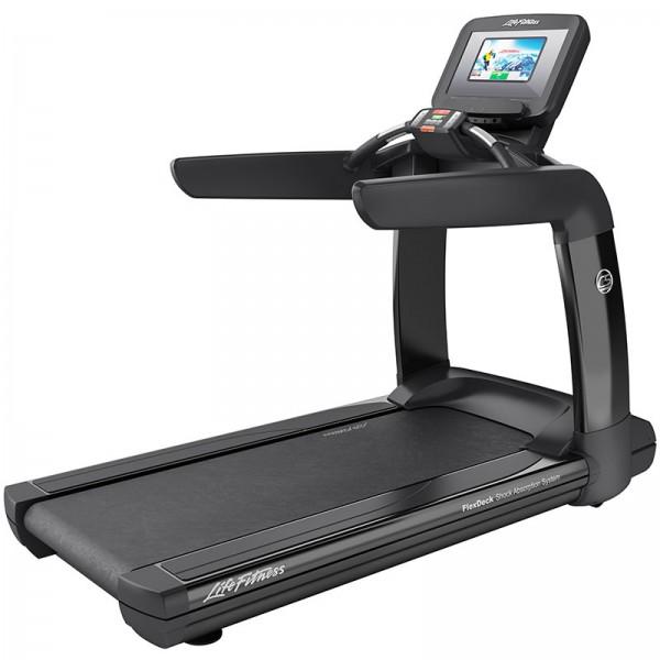 Běžecký pás Life Fitness Platinum Club řada Discover SI WIFI černá onyxová