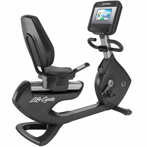 Life Fitness Recumbent Bike Platinum Club Series Discover SI