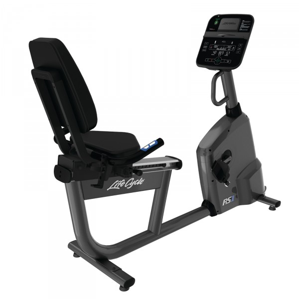 Life Fitness recumbent bike RS1 Track Connect