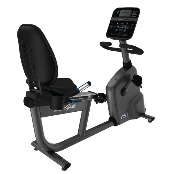 Life Fitness recumbent exercise bike RS3 Track Connect