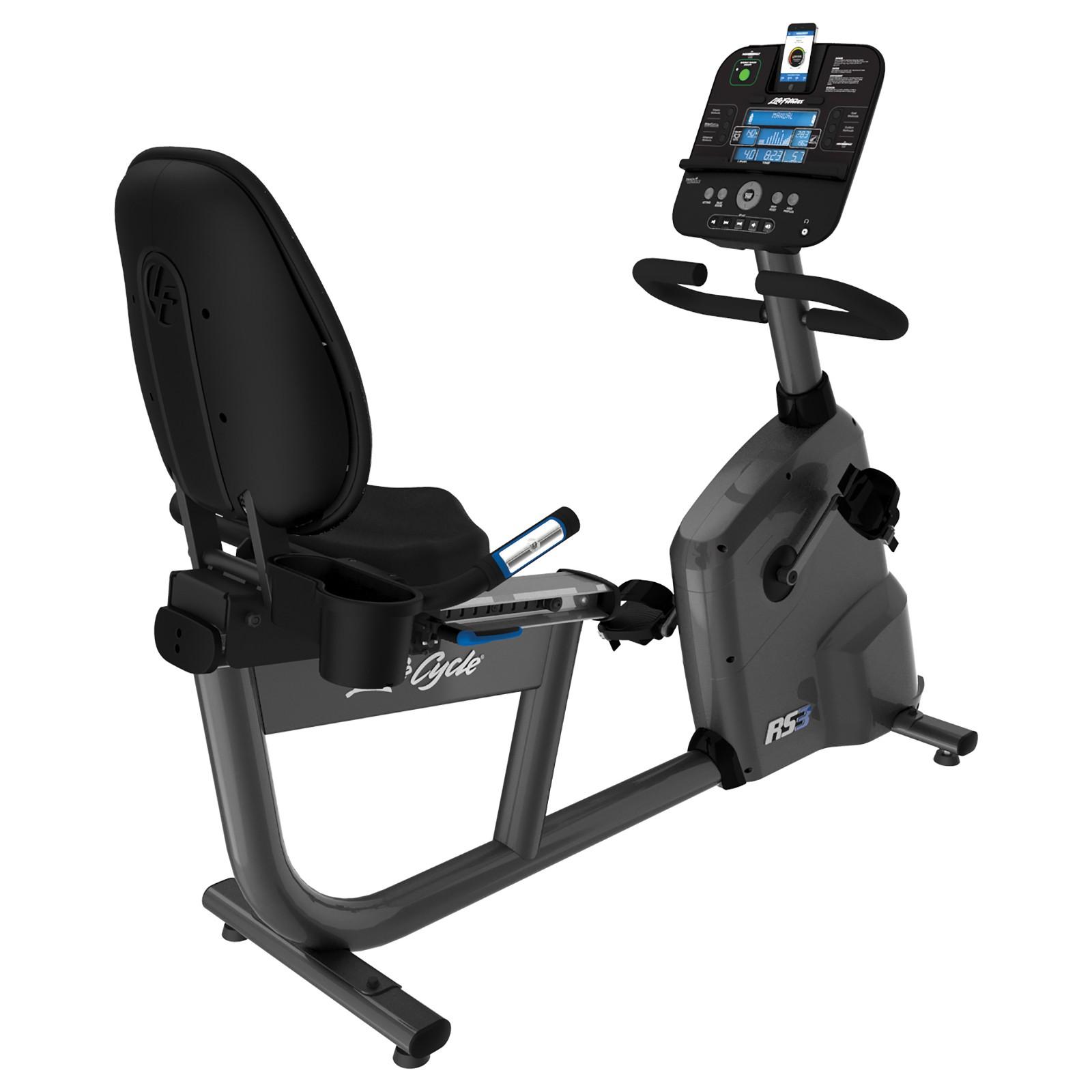 life fitness liegeergometer rs3 track plus sport tiedje. Black Bedroom Furniture Sets. Home Design Ideas