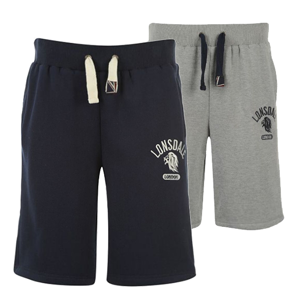Lonsdale Mens Fleece Shorts