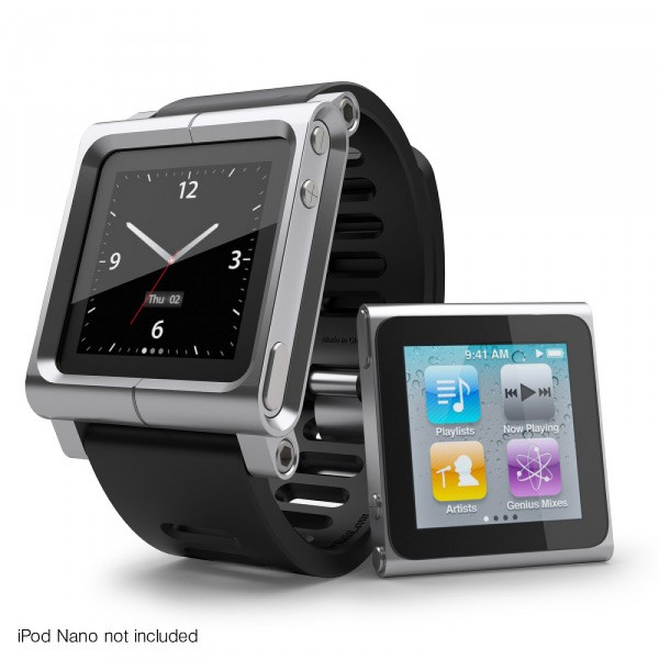LunaTik Multi Touch wristband for iPod Nano