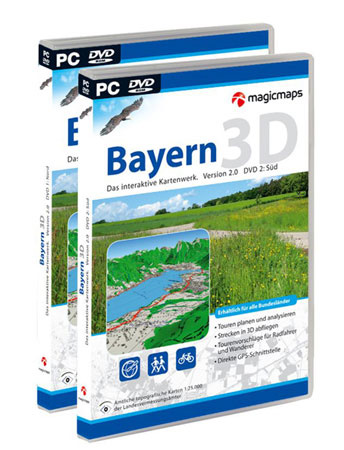 MagicMaps Interaktive Karten DVD-Set