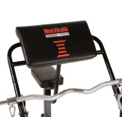 Men's Health Power Tools station flexion du bras