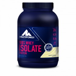 Multipower 100% Whey Isolate Protein, 725g