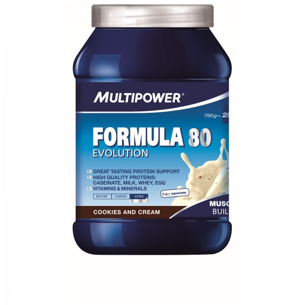 Multipower Muscle Volume Formula 80