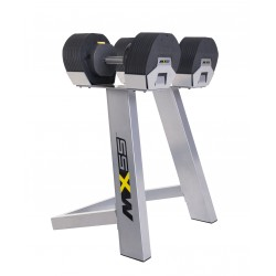 MX55 dumbbells 4.5 to 24.9 kg with rack purchase online now