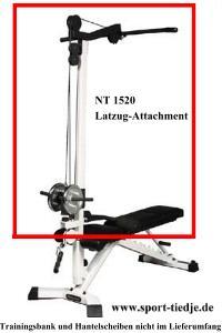 Nautilus Latzugmodul NT1520