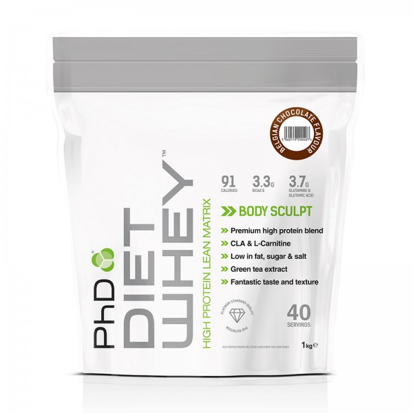 PhD Nutrition Diet Whey Protein 1kg