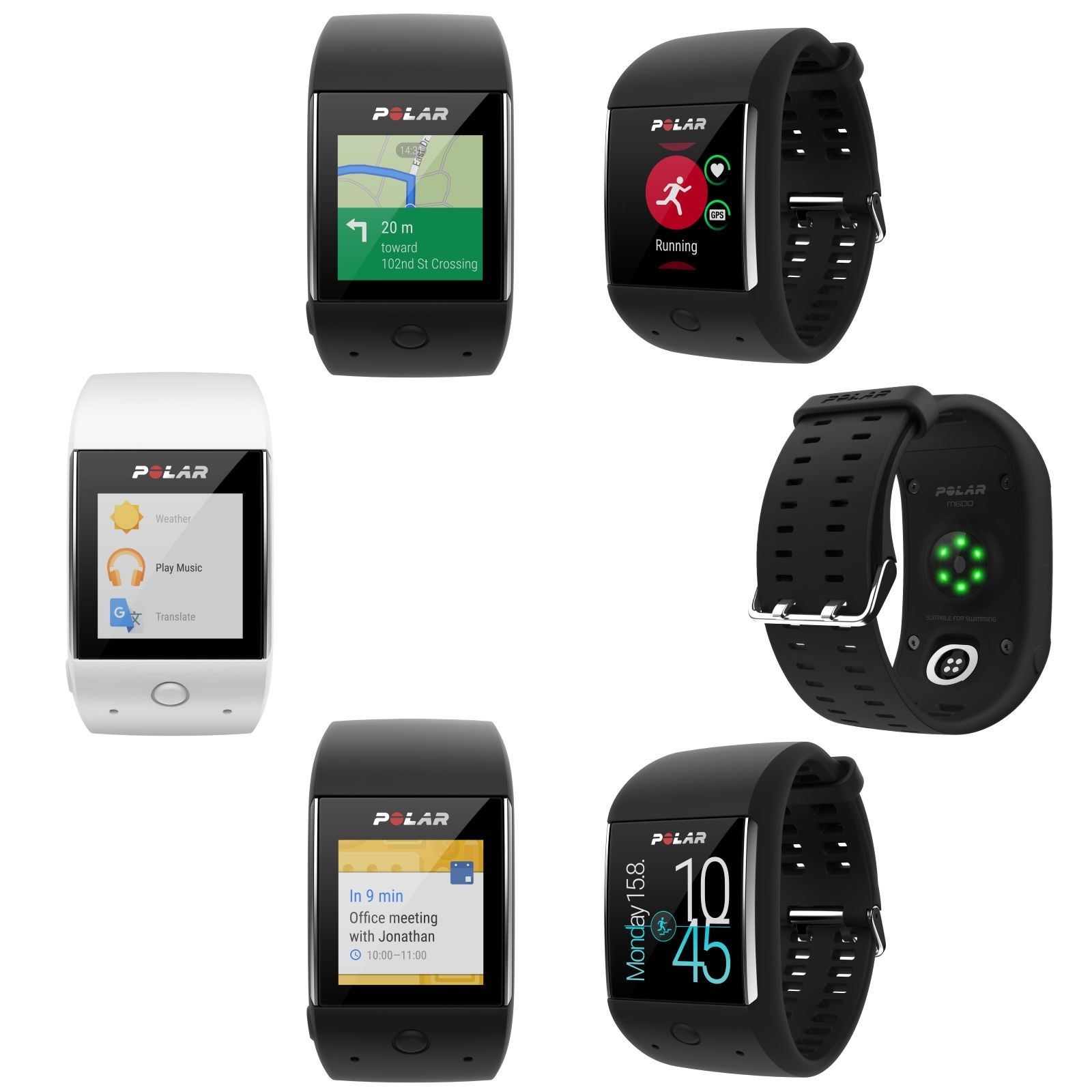 Polar Smartwatch M600 buy with 21 customer ratings
