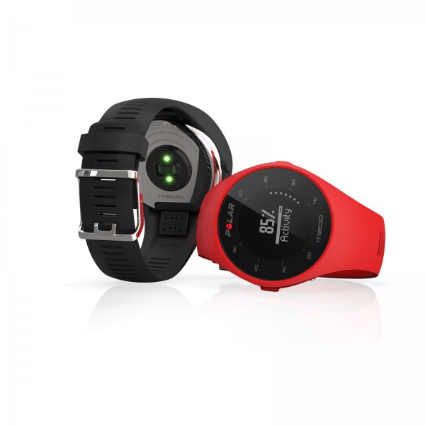 Polar GPS running watch M200 (optionally incl. Powerbank battery)