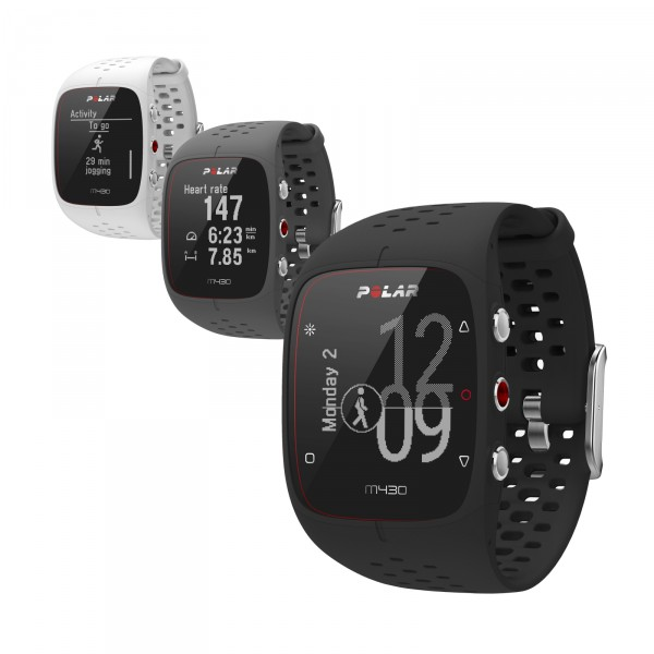Montre connectée Polar GPS de running M430