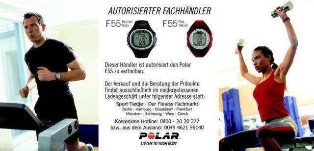 Polar F55 Fitnesscomputer