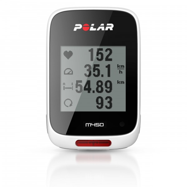 Polar bike computer M450 (HR)