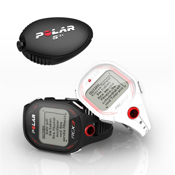 Polar RCX3 RUN pulse watch