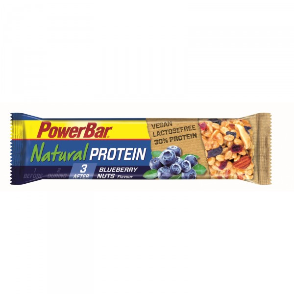 Barrita de proteínas Powerbar Natural Vegan