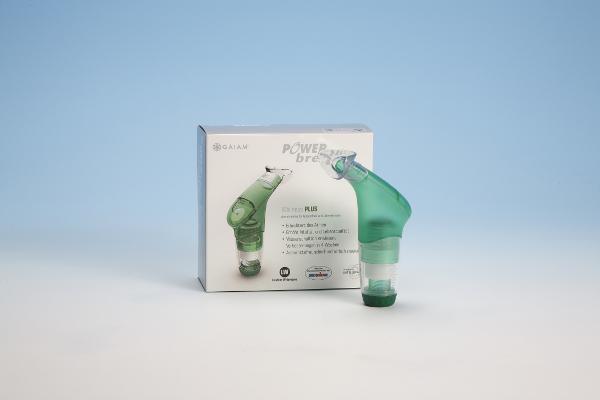 Entraîneur respiratoire à faible résistance POWERbreath Plus Wellness