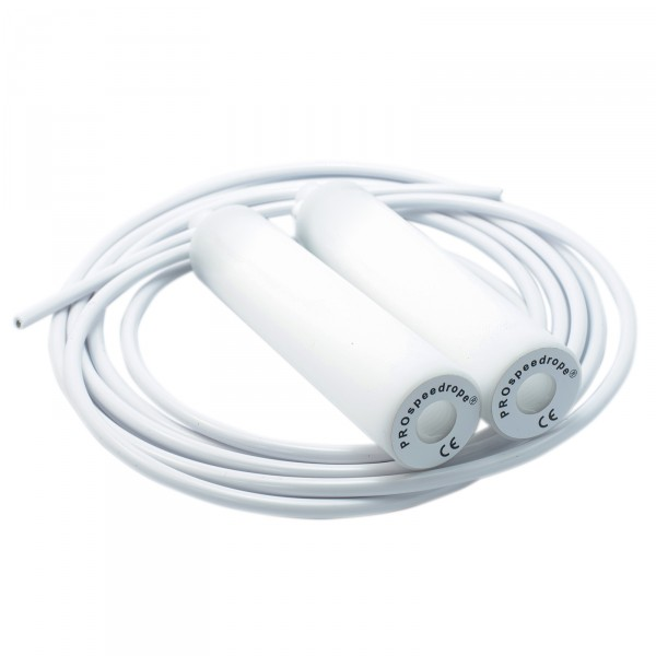 PROspeedrope Skipping Rope WHITE