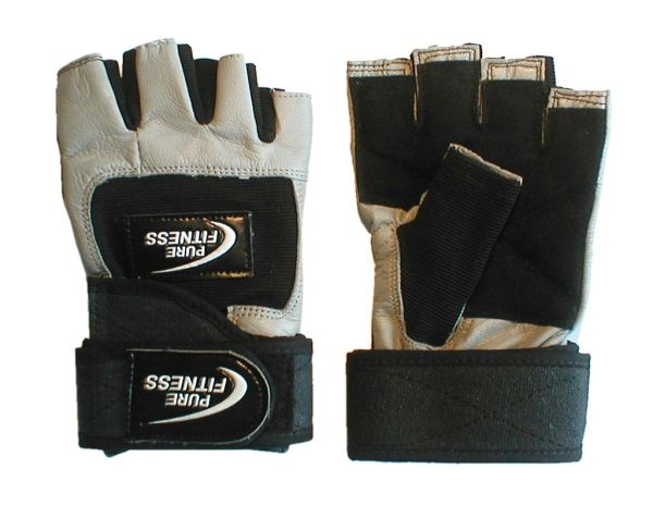 8d59721b Pure Fitness Weight Lifting Gloves Grey - Fitshop