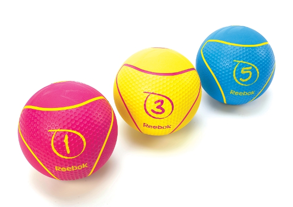 Reebok Medizinball 3kg Gelb