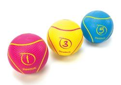 Reebok Medizinball 1kg Magenta