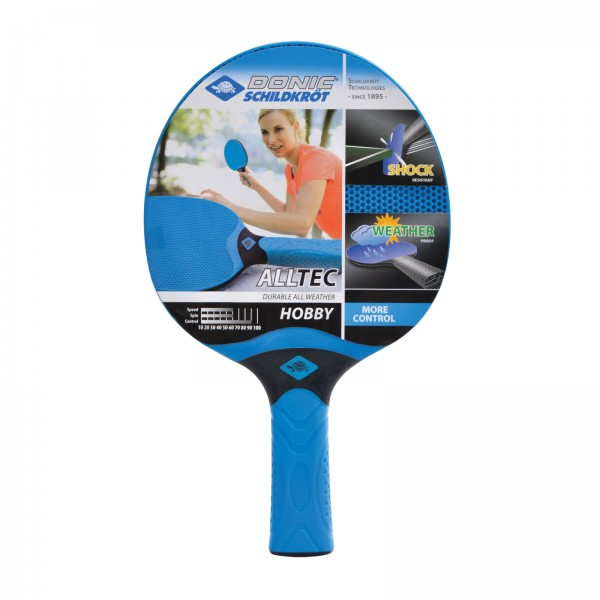 Donic-Schildkröt TT bat Alltec Hobby All Weather (Blister), concave